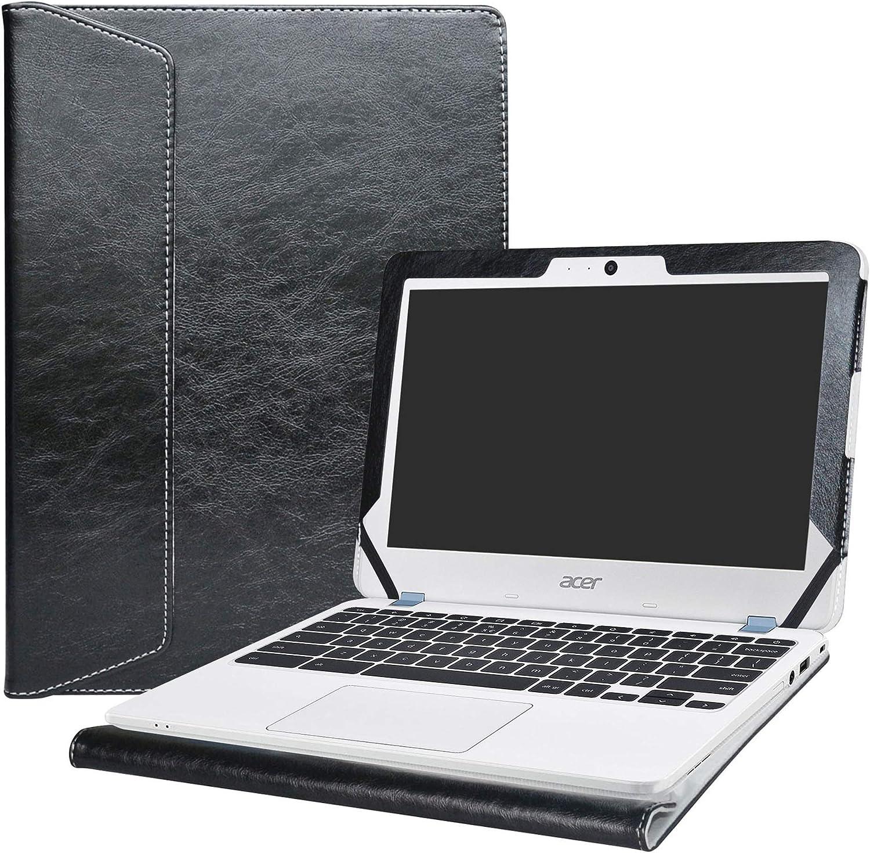 "Alapmk Protective Case Cover for 11.6"" Acer Chromebook 11 C771T C771 & Chromebook Spin 11 CP311-1HN R751T CP511-1HN R751TN & Chromebook 11 N7 C731T C731 CB311-7H CB311-7HT Series Laptop,Black"