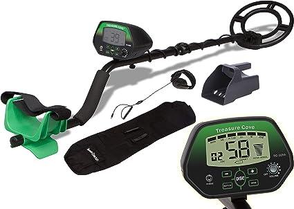 Treasure Cove Kit de detector de metales digital de acción rápida, kit de detector de metales autoajustable con pantalla digital Led Negro: Amazon.es: Hogar