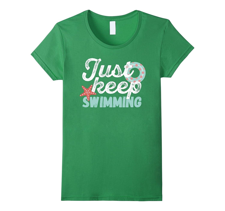 Womens Swimming T shirt swimming Heather-Tovacu