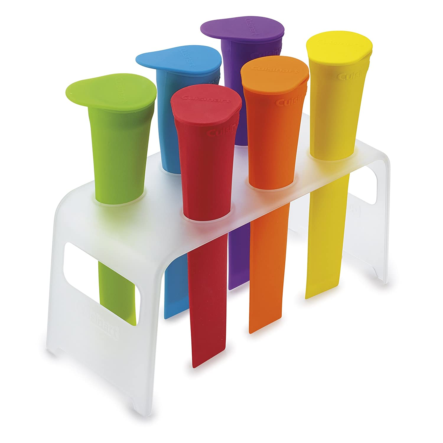 Cuisinart CTG-00-IPM Ice Pop Molds with Tray, Multicolor