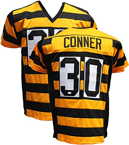 2f91edc6a Image Unavailable. Image not available for. Color: Authentic James Conner  Autographed Signed Custom Bumblebee Jersey ...