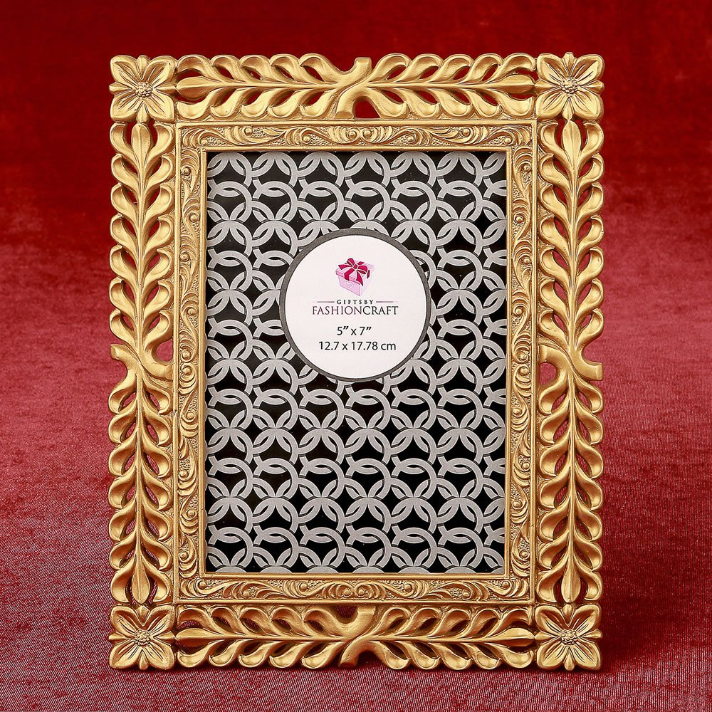 13 Magnificent Gold Lattice 5 x 7 Frames by Fashioncraft