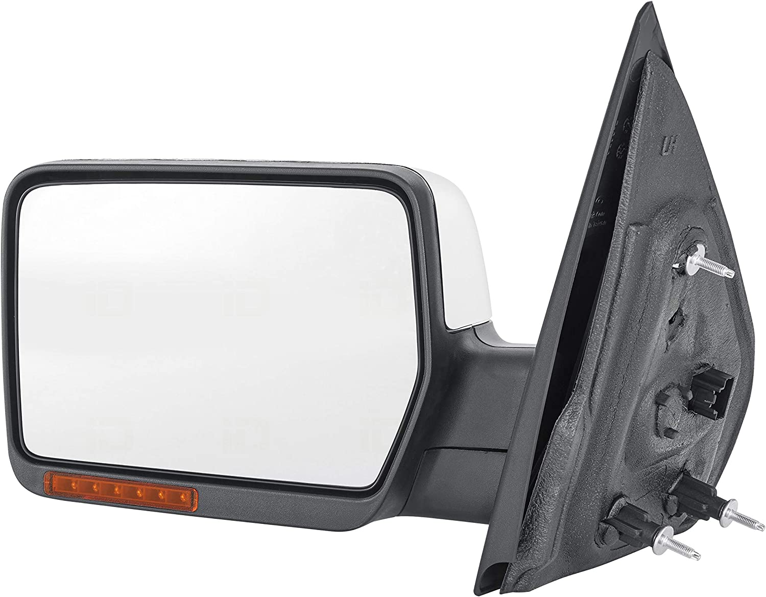 OE Replacement Ford F-150//Lincoln Mark LT Driver Side Mirror Outside Rear View Partslink Number FO1320332