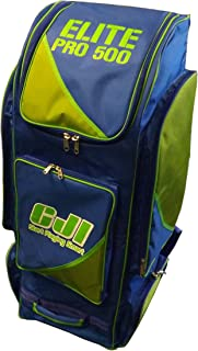 Cji Elite Pro 500Grand sac de voyage Bleu/vert CJI Cricket