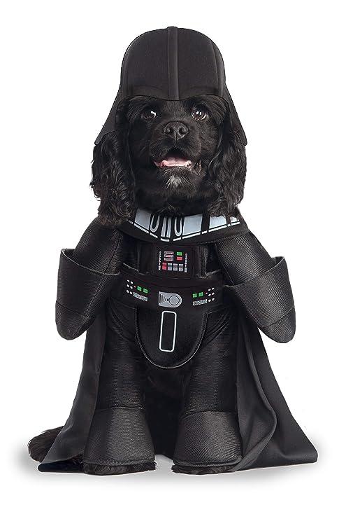 Star Wars - Disfraz de Darth Vader Deluxe para mascota, Talla M perro (Rubies 885900-M)