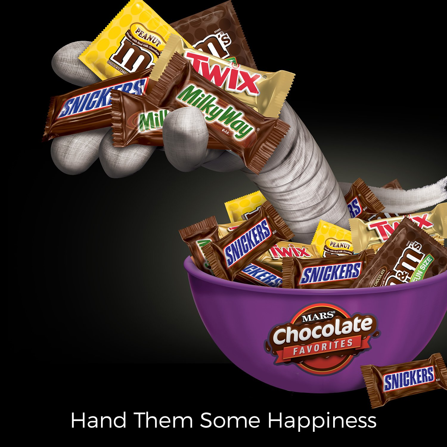 MARS Chocolate Favorites Halloween Candy Bars Variety Mix 69.2-Ounce 135-Piece Bag by Mars (Image #2)