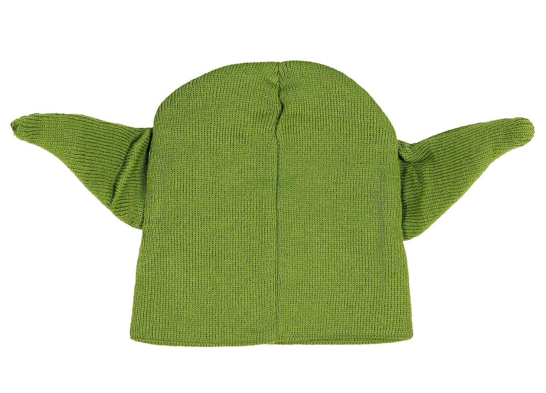 Star Wars Black Darth Vader or Green Yoda Beanie Winter Hat by Disney Size 4-16