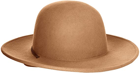 18e1a723 ... amazon amazon brixton mens tiller wide brim felt fedora hat clothing  29647 88e9e