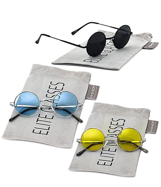 Amazon.com: John Lennon Hipster Fashion Gafas de sol ...