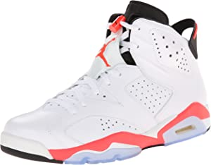 the best attitude 4b9cc 4e5e6 Jordan Air 6 Retro Men s Basketball Shoes White Infrared-Black 384664-123