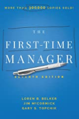 The First-Time Manager Hardcover