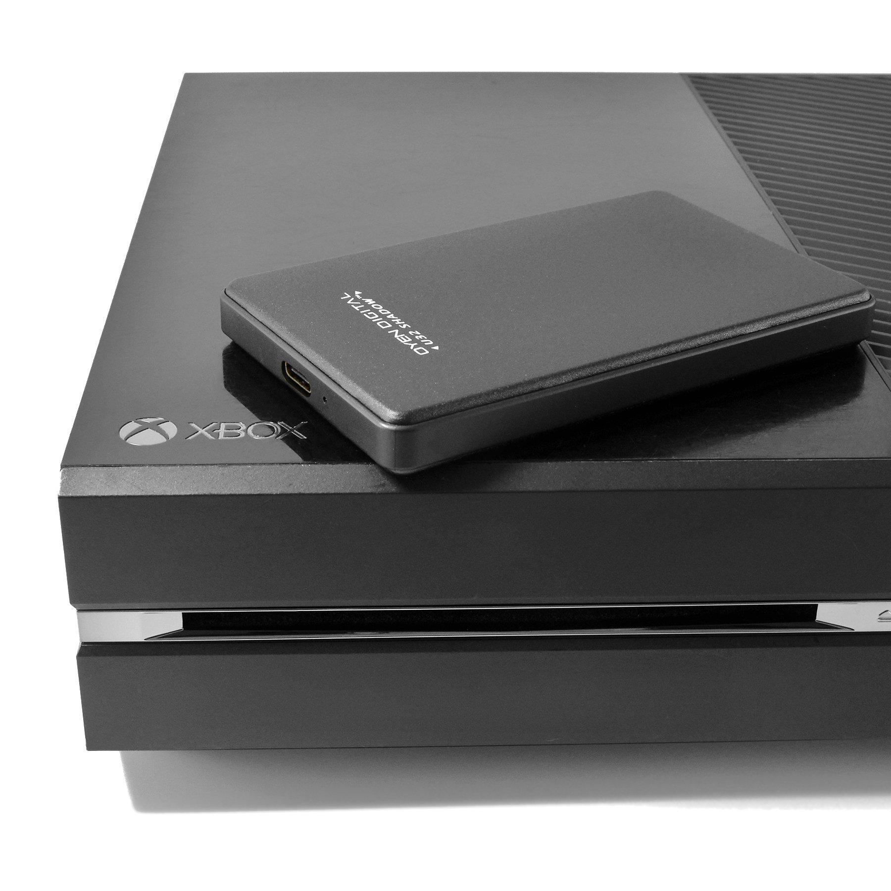 U32 Shadow 2TB USB-C External Hard Drive for Xbox One/X/S by Oyen Digital (Image #3)