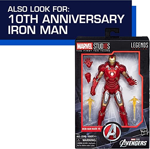 """Marvel Legends 6/"""" Inch Studios 10th Year 3-Pack Pepper Potts Loose Complete"""