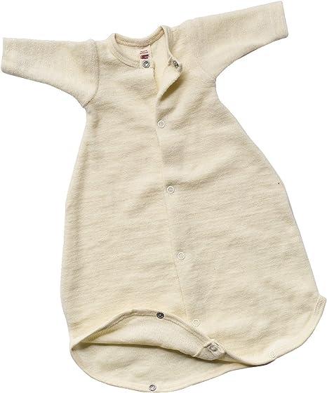 Lilano kbT Schlafstrampler Schlafsack Mit Arm 100/% Wollfrottee Flausch