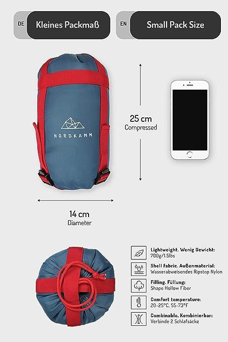 Keenso Sac de Couchage H/ôtelier Sac de Couchage Jetable Portable pour Voyager /à lExt/érieur de lH/ôtel