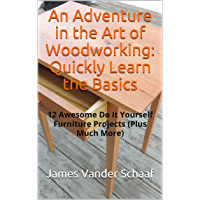 An Adventure in the Art of Woodworking:  Quickly Learn the Basics (English Edition)