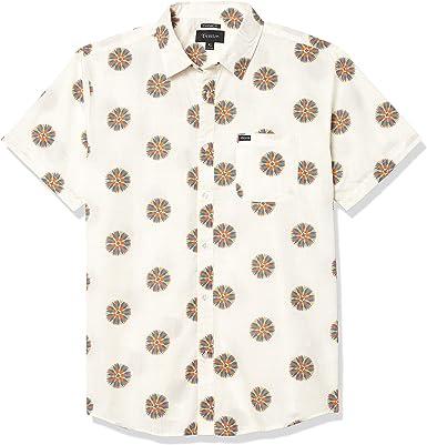 Brixton Hombre 01134 Manga corta Camisa de botones: Amazon.es: Ropa y accesorios