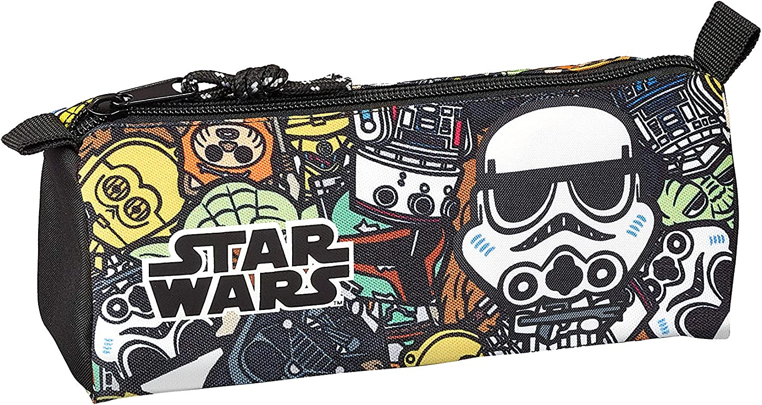 Star Wars Galaxy Oficial Estuche Escolar 210x70x80mm: Amazon.es: Oficina y papelería