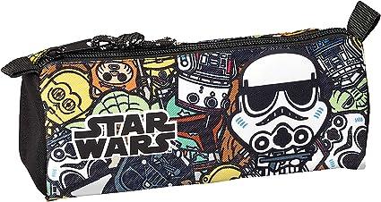 Star Wars Galaxy Oficial Estuche Escolar 210x70x80mm: Amazon.es: Oficina y papelería