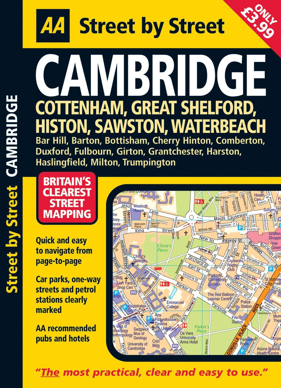AA Street by Street: Cambridge: Cottenham, Great Shelford, Histon, Sawston, Waterbeach PDF