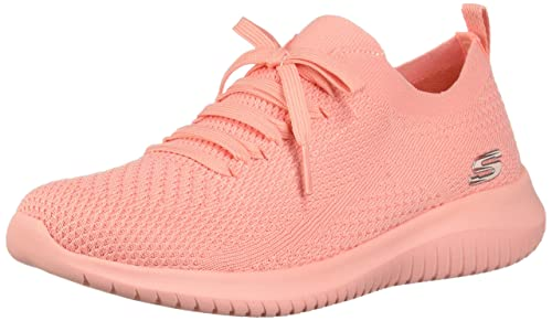 Skechers Ultra Flex-Pastel Party, Scarpe da Ginnastica Donna