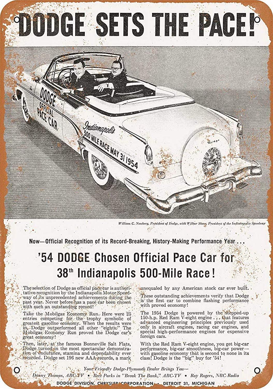 HALEY GAINES Dodge Official Pace Car Placa Cartel Póster de ...