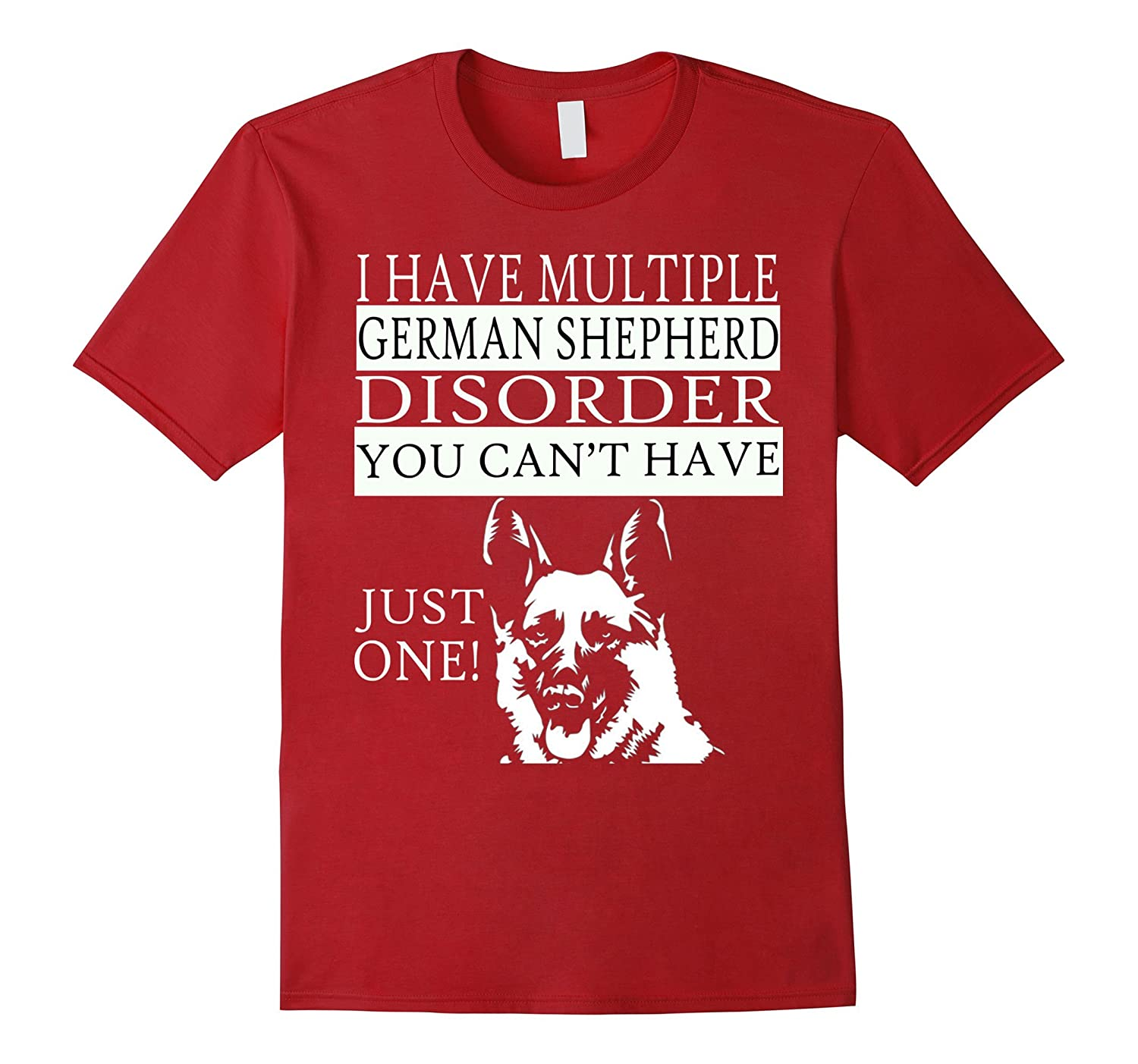 I Have Multiple German Shepherd Tshirt-Art