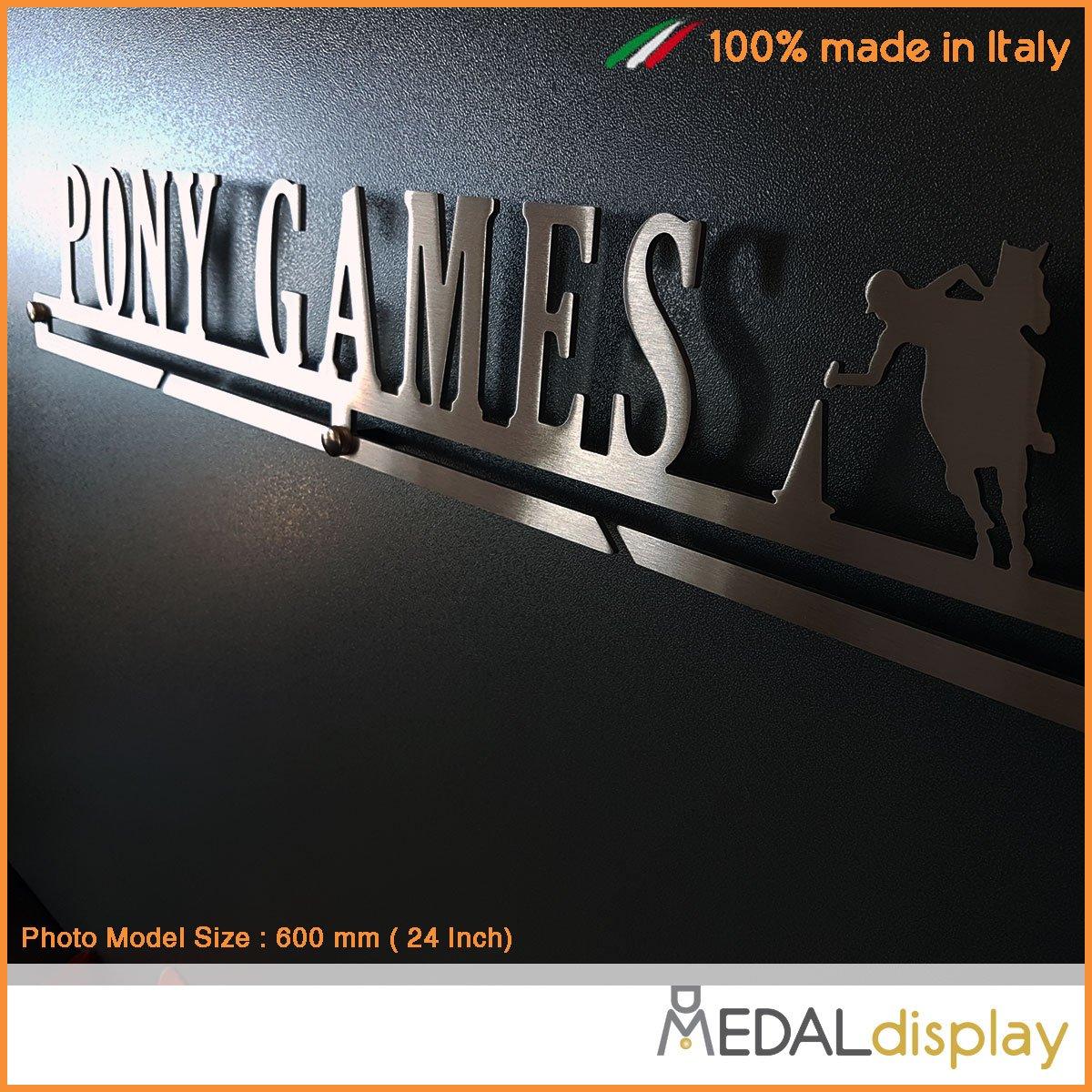 Medagliere da parete MEDALdisplay Medal Hanger Porta medaglie Pony Games PONY GAMES