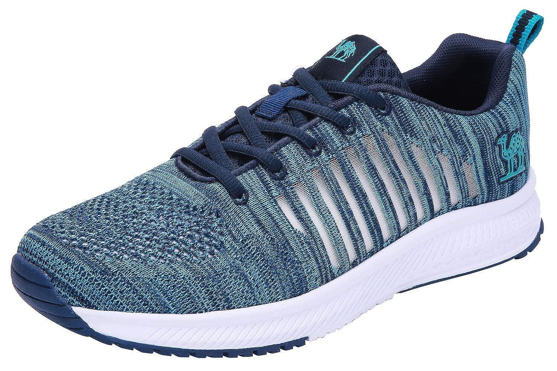 CAMEL CROWN Zapatos de Correr para Hombres Ligeras Transpirables Zapatillas Deportivas de Malla para Caminar Gimnasio Tennis Actividades al Aire Libre: Amazon.es: Zapatos y complementos
