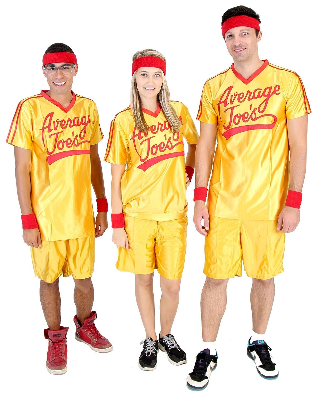 Plus Größe Dodgeball Jersey Fancy dress costume 3X
