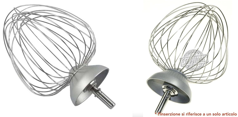 Kenwood KM631 - Frusta a palla 12 fili in alluminio Kenwood*