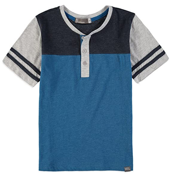 Amazon.com  MTL Apparel Boys  Short-Sleeve Football Henley T-Shirt ... d7001b9eb786