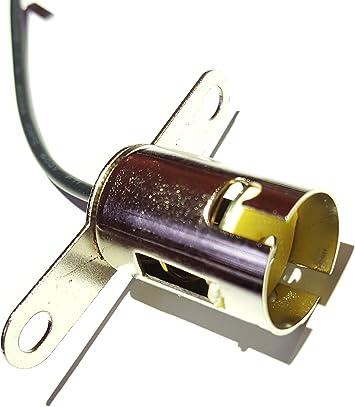 2x P21w Ba15s 1156 Fassung Lampenfassung Sockel Stecker Kabel Boot 12v Amazon De Auto