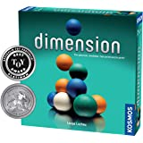 Dimension - A 3D Fast-Paced Puzzle Game from Kosmos | Up to 4 Players, for Fans of Strategy, Quick-Thinking & Logic | Parents