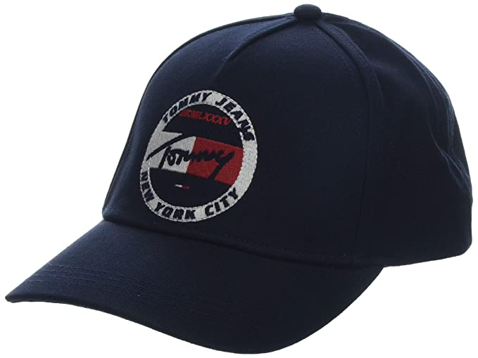 a26a83450 Hilfiger Denim Men's TJM Heritage Embroidery Cap Baseball, Blue ...