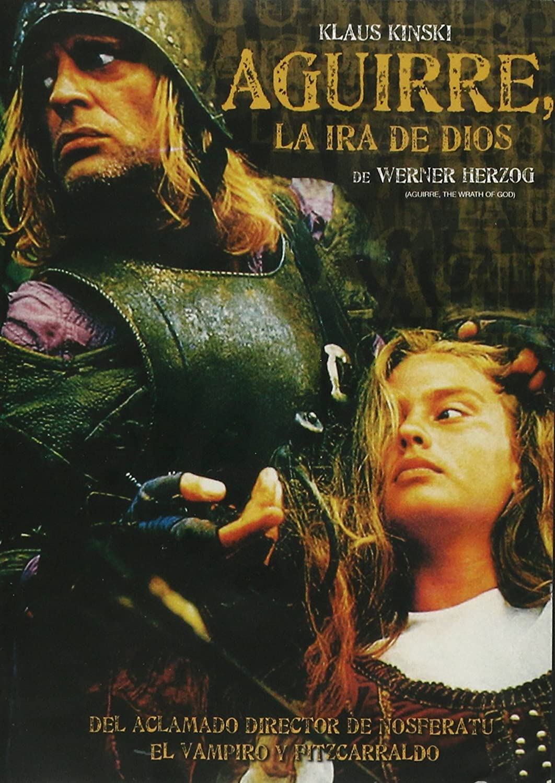 Aguirre the wrath of God Klaus Kinski cult movie poster print