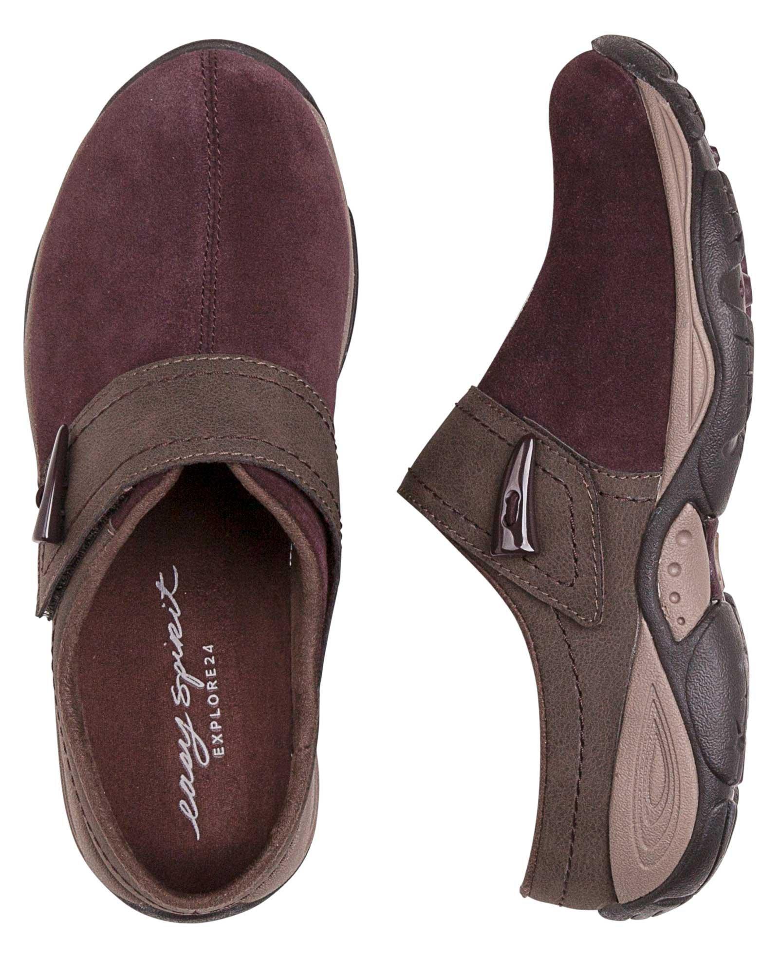 Easy Spirit Womens Eliana Slip-On Shoe, Vine/Chestnut, 10 C/D US