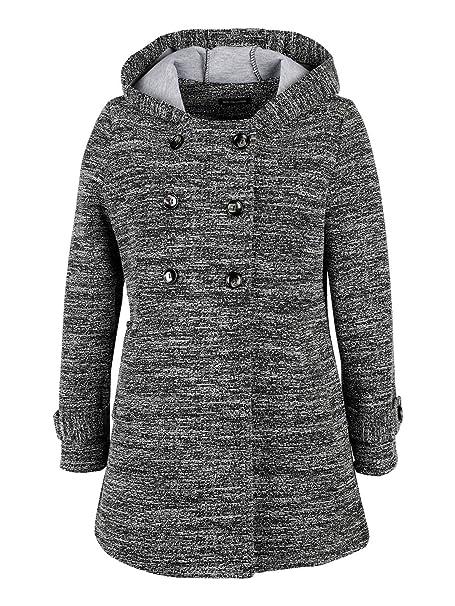 Damen Mantel Grau One Size Amazonde Bekleidung