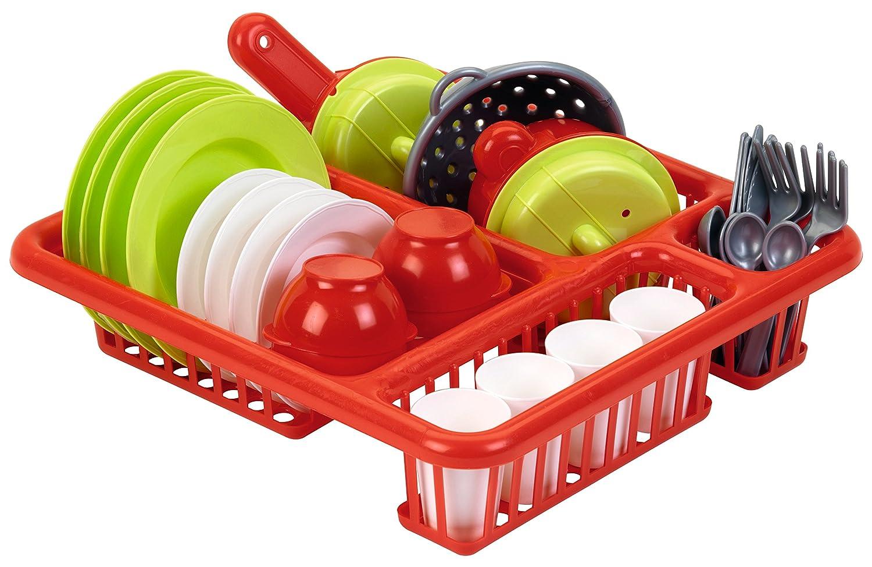 Spielgeschirr Plastik - Ecoiffier Geschirr Garnitur