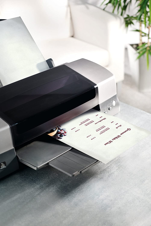 Sigel DP126 Papel de cartas, 21 x 29,7 cm, 90g/m², Menú de vinos, blanco y púrpura, 50 hojas: Amazon.es: Oficina y papelería