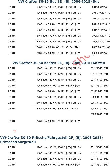 AHK VW Crafter ab 2006 Bus Kasten Pritsche Anhängevorrichtung Anhängerkupplung