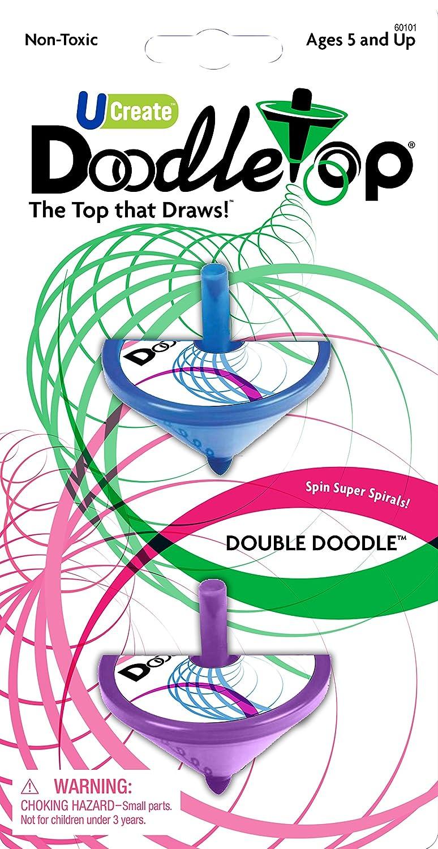 U-Create Doodletop Double Doodle University Games 60101