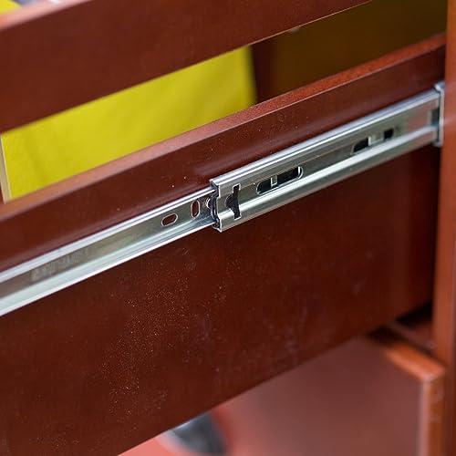 Belham Living Cambridge 2-Drawer Filing Cabinet – Rich Cherry