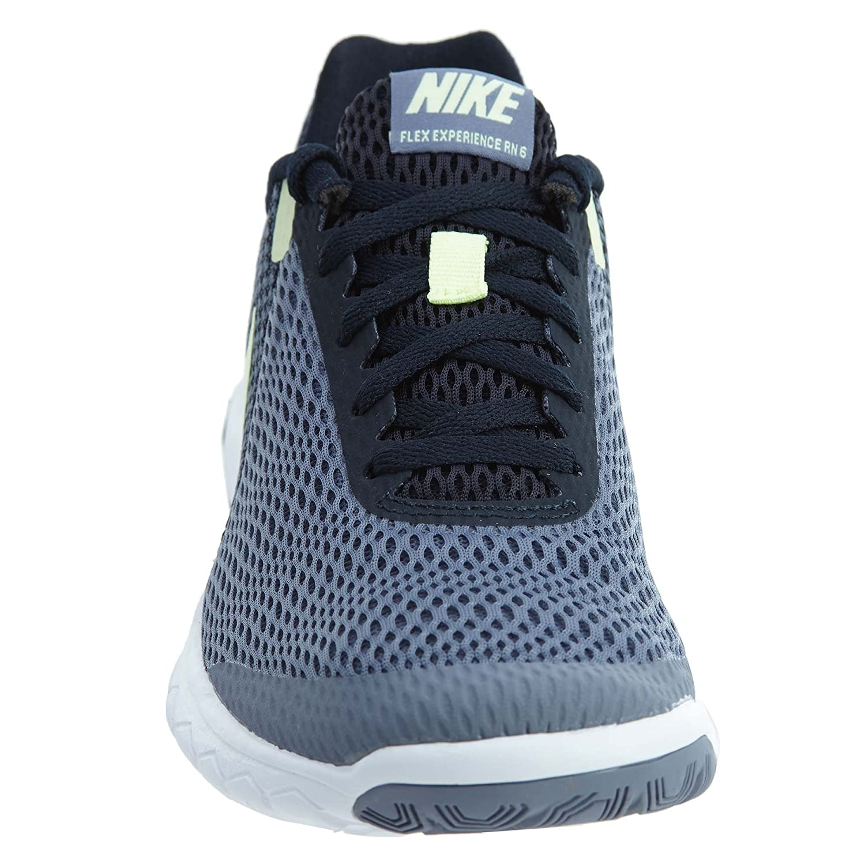 NIKE Women's Flex Experience RN 6 Running Shoe B06VVSBH2K 10.5 B(M) US|Dark Sky Blue/Barely Volt-dark Obsidian