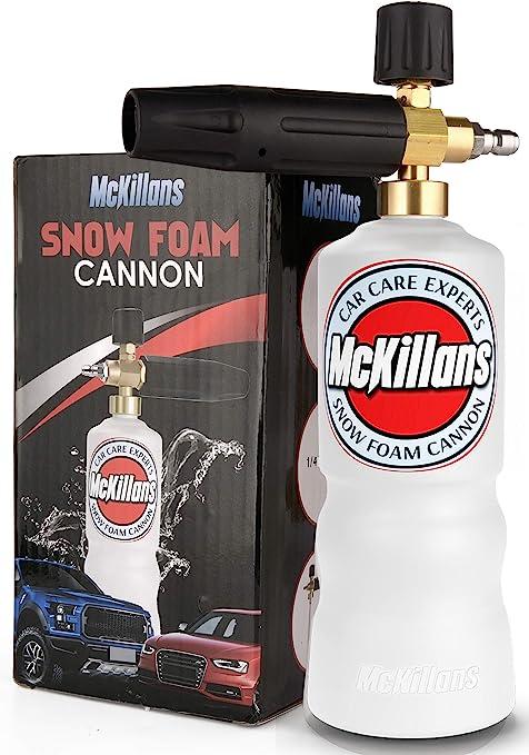 PRO SNOW FOAM LANCE CANNON WASHER GUN SOAP CAR FOAMER WASH JET BOTTLE 1L SUPREME