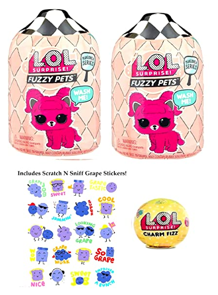 Fuzzy Pets with Washable Fuzz /& Water Surprises LOL Surprise