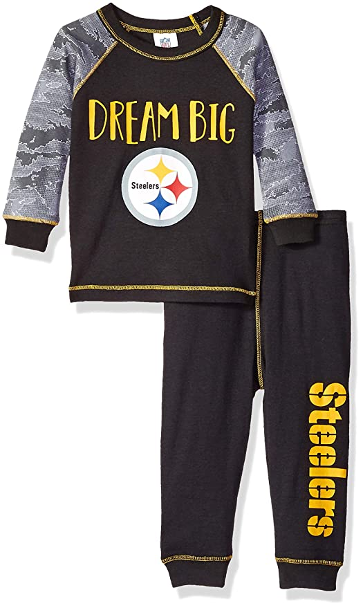 Image Unavailable. Image not available for. Color  NFL Pittsburgh Steelers  Unisex-Baby 2-Piece ... 37e682674