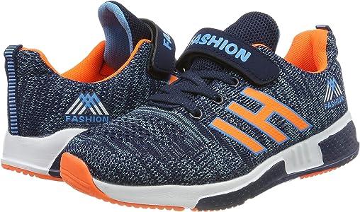 Baskets Mode Fille Gar/çon Chaussure de Course Enfant Sport Running Shoes Sneakers Competition Entrainement pour l/ét/é en Plein air