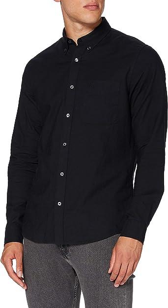 Calvin Klein Oxford Solid Slim Non Stretch Camisa para Hombre: Amazon.es: Ropa y accesorios
