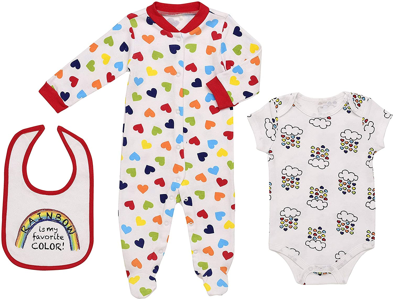 Baby Onesies Rainbow Pineapple Gifts 100/% Cotton Baby Jumpsuit Comfortable Short Sleeve Bodysuit